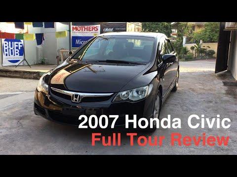 2007 Honda Civic FD 1.8V AT Full Tour Review