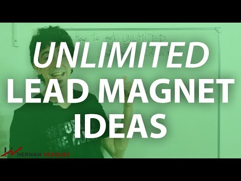 [GUIDE] How To Get Unlimited Lead Magnet Ideas - Hernan Vazquez