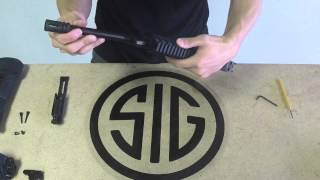 Sig Sauer MPX Complete Field Strip and Reassembly Tutorial Part 2