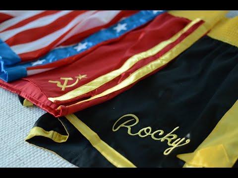 Shorts De Rocky, Apollo E Drago