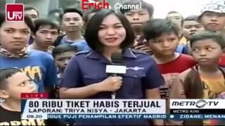 Berita 4 April 2016 VIDEO Arema Juara, Jalanan Di Kota Malang Dipenuhi Konvoi Aremania (HO