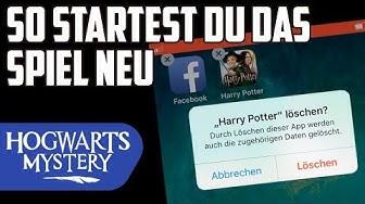 Spielstand löschen / Spiel zurücksetzen / Spiel neustarten ◈ Harry Potter: Hogwarts Mystery