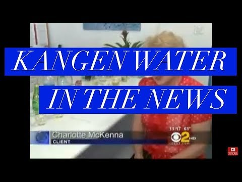 Kangen Water myth EXPOSED on CBS News