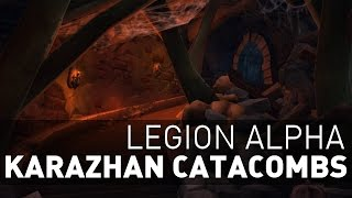 wow legion karazhan catacombs unholy dk artifact scenario