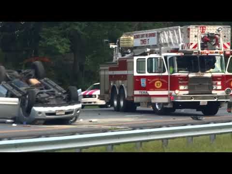 Interstate 83 Accident at the Padonia Road exit-Cockeysville MD