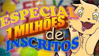ROSTO?? - ESPECIAL 1 MILHÃO DE INSCRITOS!!