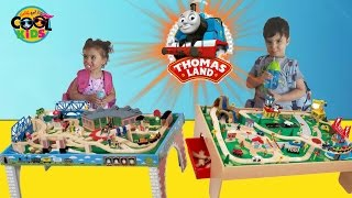 thomas and friends wooden railway play table toy trains
