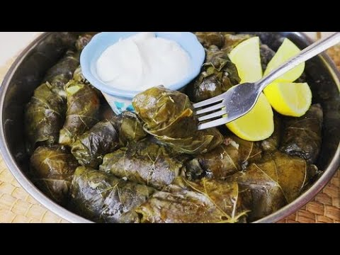 dolmas-|-dolmades-|-greek-recipe-||-stuffed-grape-leaves-|-quick-&-easy!