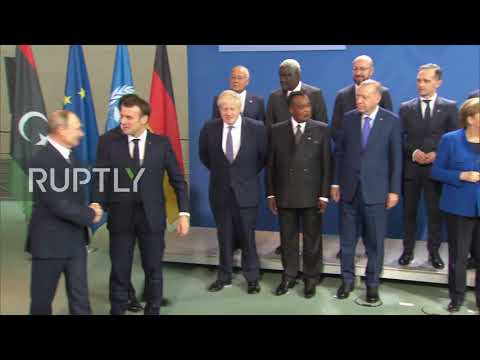 "Germany: Leaders pose for ""family photo"" as Berlin Libya conference begins"