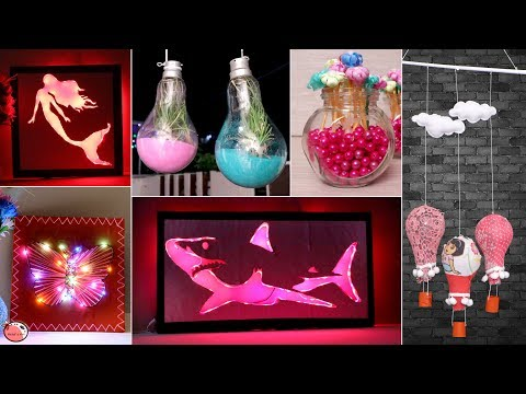 6 Easiest DIY Room Decor Craft Ideas !!! Incredible Home Decor