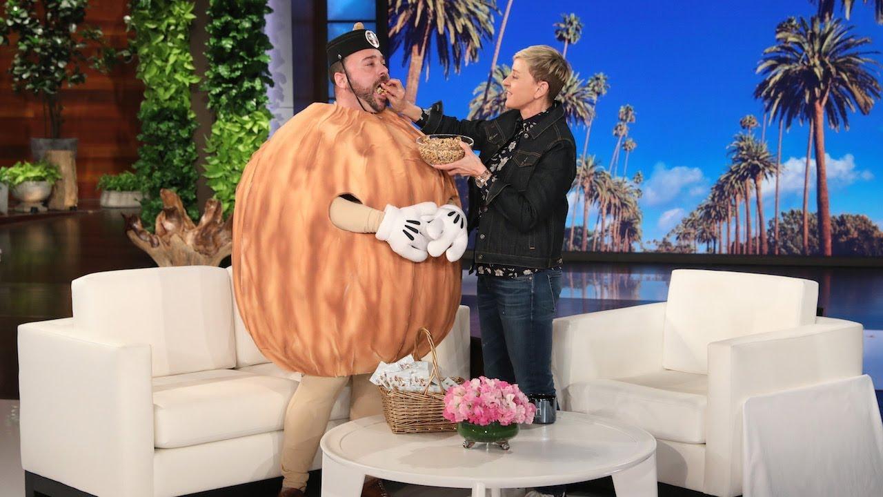 Ellen Celebrates Valentine's Day with Wally the Walnut