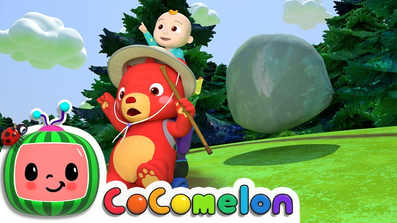 The Bear Went Over the Mountain | CoCoMelon Nursery Rhymes & Kids Songs