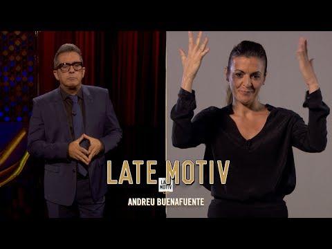 LATE MOTIV - Monólogo de Andreu Buenafuente... en lengua de signos.