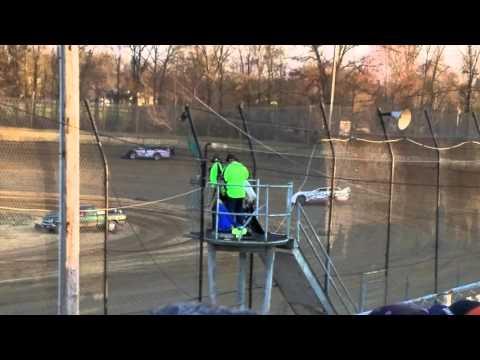 Kyle Moore hot lapping at moler raceway park