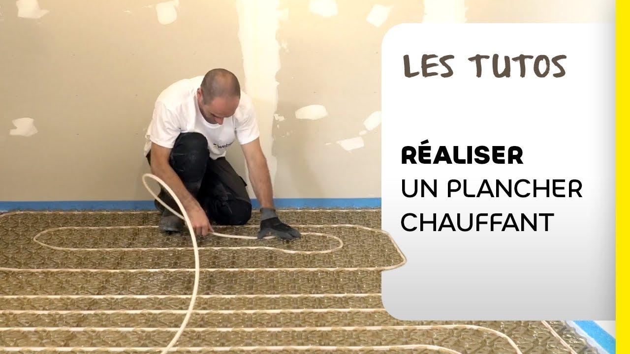 Comment Realiser Rapidement Un Plancher Chauffant Les Tutos Weber Youtube