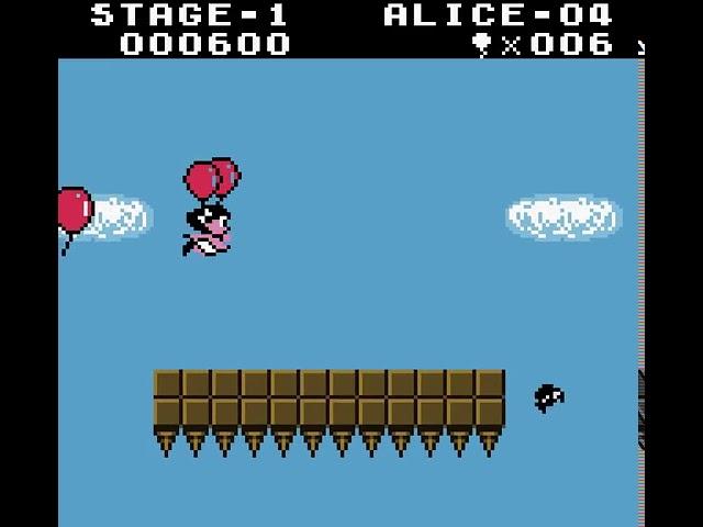 Jouez à Balloon Fight sur Nintendo Gameboy Color grâce à nos bartops et consoles retrogaming