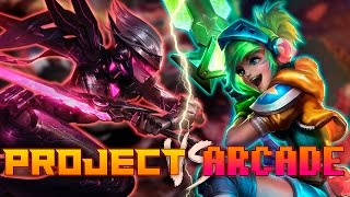 PROYECTO vs ARCADE | Mejores Momentos ( League of Legends )