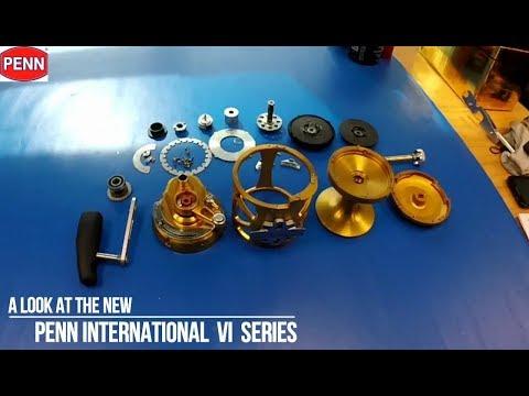 A Look At The New Penn International VI Series - With Sword Fish Steve (reel Repair Guy)