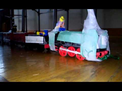 Wallace and gromit train Chase
