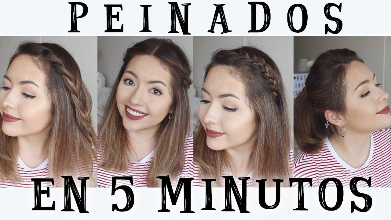 Peinados faciles y bonitos en 5 minutos