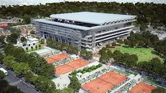 Roland Garros Roof & 2020 Art