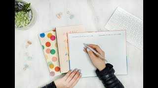 How to set GOALS with the Start Today Journal thumbnail