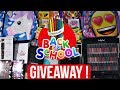 BIGGEST BACK TO SCHOOL GIVEAWAY! 2 Winners  -  CLOSED