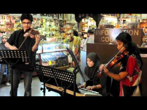 Music For Life - UiTM (Violin Quartet) at Central Market