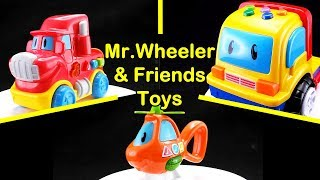"😀Go Grow Fun😀 EP30 ""Mr.Wheeler & Friends Toys"""