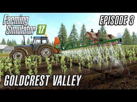 Let's Play Farming Simulator 2017   Goldcrest Valley   Episode 3