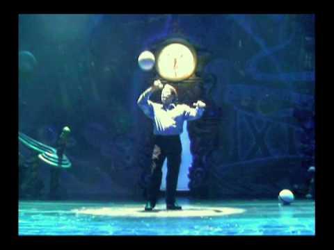MARTIN LAMBERTI DREAM JUGGLING BALL SPINNING ACT