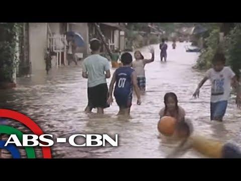Marc Logan reports: Pinoys have fun in the rain