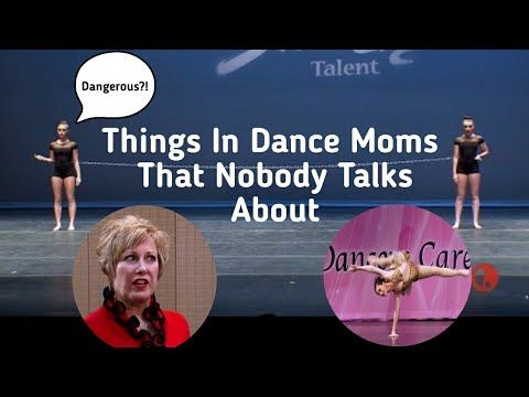 Things In Dance Moms That Nobody Talks About!