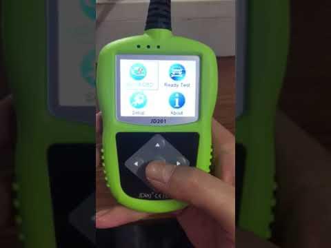 JDiag JD201 Code Reader With Color Screen for OBDII/EOBD/CAN Autel Autolink AL319  update