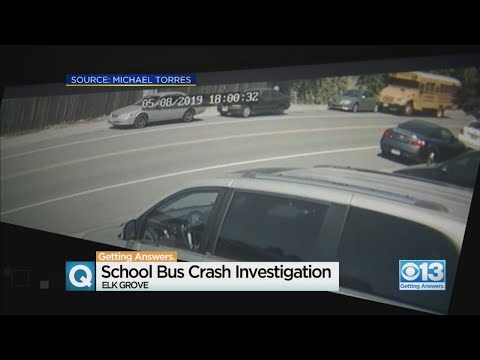 Investigation Into Elk Grove School Bus Crash