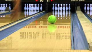 amf 300 green mamba bowling ball reaction video ball review