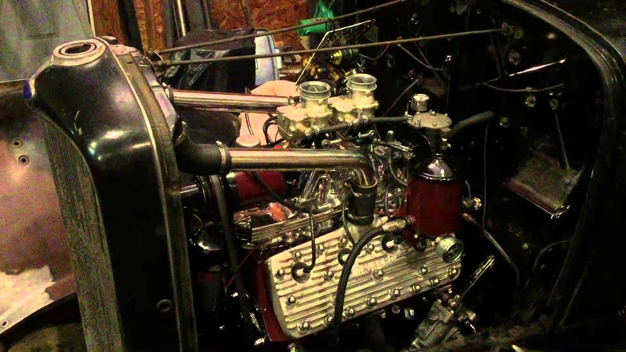 1942 Ford Flathead Full-Race Engine - Enjoy 284 Cubes of Music!
