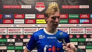 Reactie Vincent Vermeij na Roda JC - FC Den Bosch (0-2)