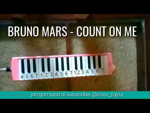 Not Pianika - BRUNO MARS COUNT ON ME