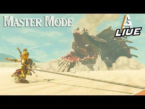 THE GERUDO DESERT: Zelda BotW MASTER MODE LIVE