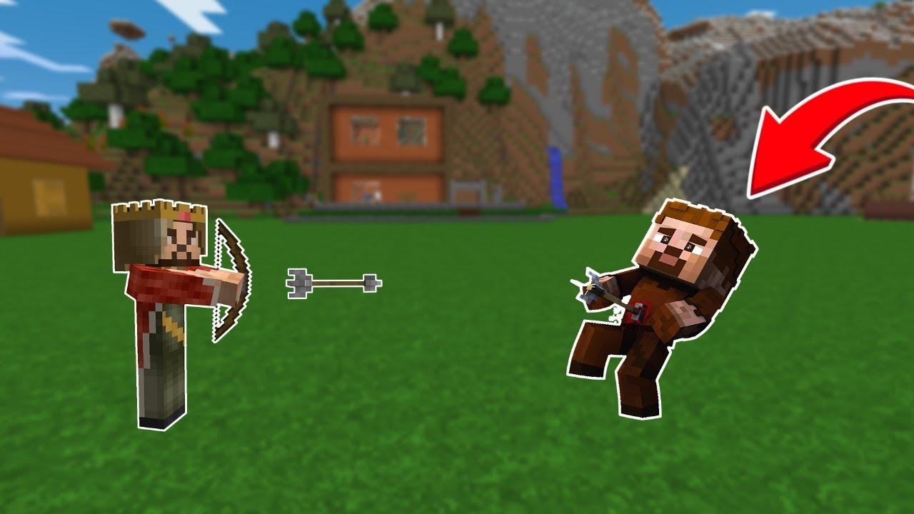Download RÜZGAR ARDAYI OK İLE VURUYOR! 😱 - Minecraft