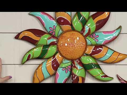Plow & Hearth Talavera Wall Art on QVC