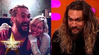 Download Jason Momoa Goes Crazy When He Sees Emilia Clarke | The Graham Norton Show Mp3 and Videos