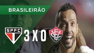 SÃO PAULO 3 X 0 VITÓRIA - 12/06 - BRASILEIRÃO 2018