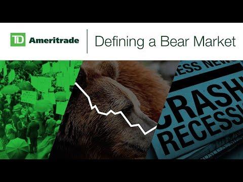 Defining a Bear Market