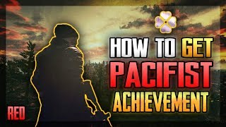 HOW TO GET PACIFIST IN TITLE | CHECK THE UPDATED VERSION LINK IN DESCRIPTION - RED | [PUBG MOBILE]