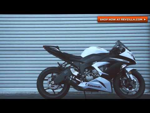 Two Brothers Racing - 2013 Kawasaki Ninja ZX6R Slip-on Exhaust System