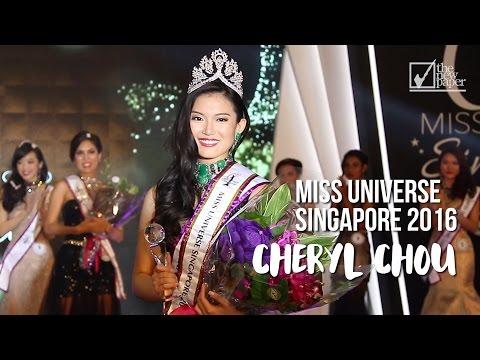 Miss Universe Singapore 2016 is Cheryl Chou