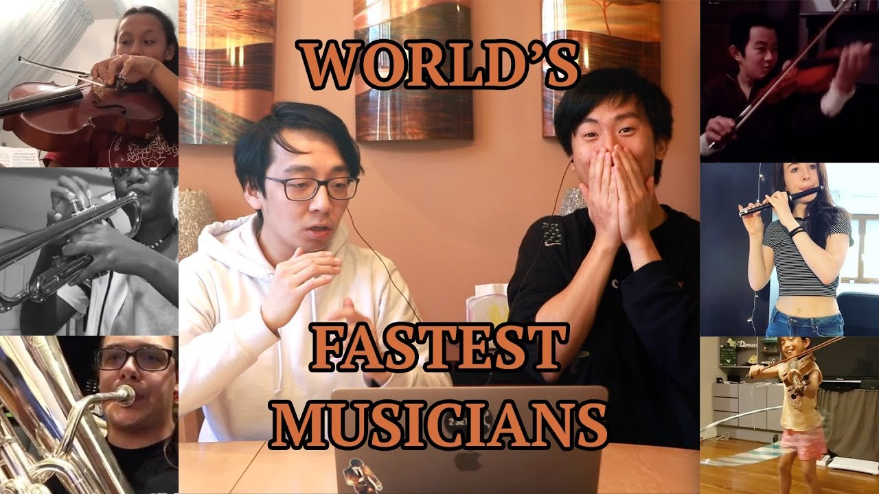 The World's FASTEST Musicians