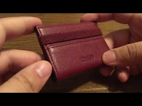 Ipulse Full Grain Leather Minimalistic Credit Card Wallet Review